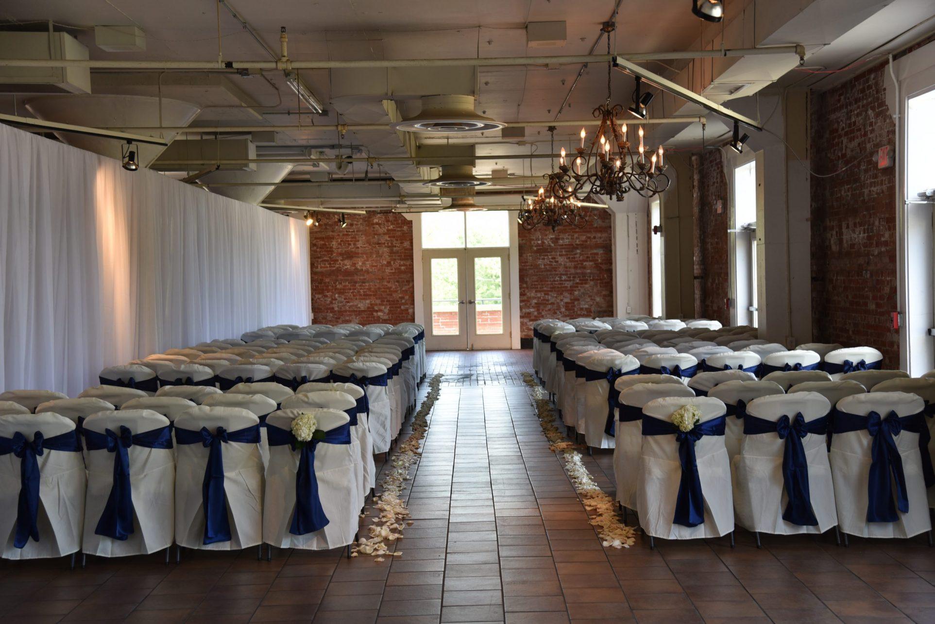 Picasso Room: Wedding Ceremony Setup