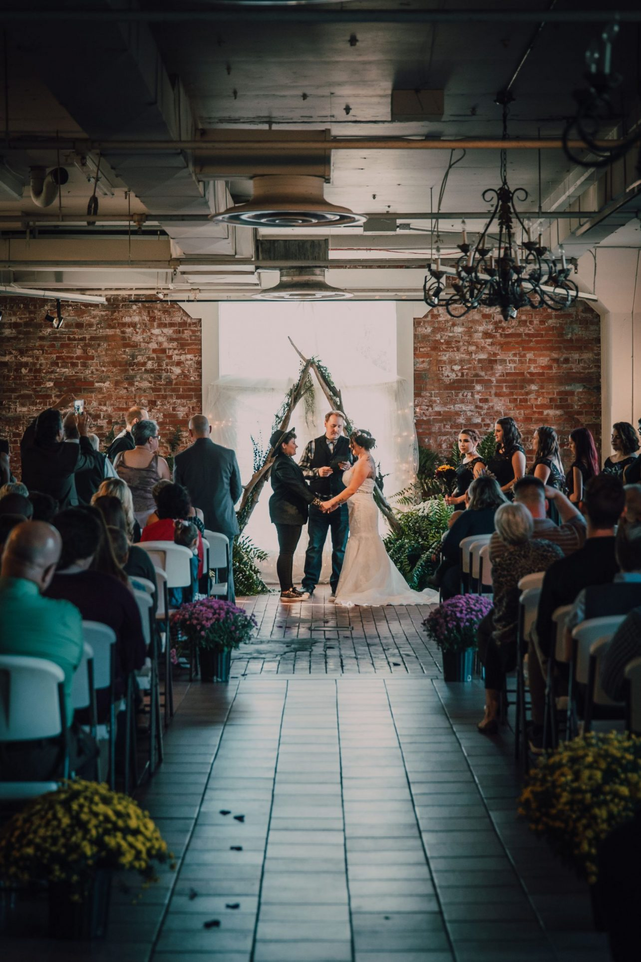 Picasso Room: Wedding Ceremony. Photo by We Choose The Moon Photography